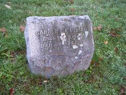 Caroline E. <i>Carter</i> Lyman