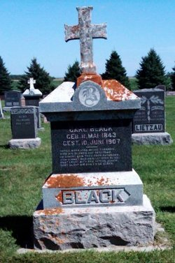 Carl Charles <i>Bleck</i> Black