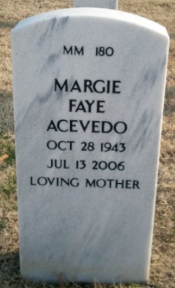 Margie Faye Acevedo