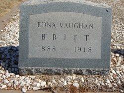Sara Edna <i>Vaughan</i> Britt