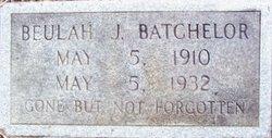 Beulah A <i>Jeffreys</i> Batchelor
