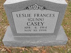 Leslie Frances <i>Gunn</i> Casey