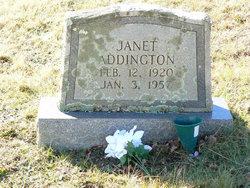 Opha Janet <i>Meade</i> Addington