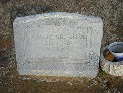 Dorothy <i>Gist</i> Allen
