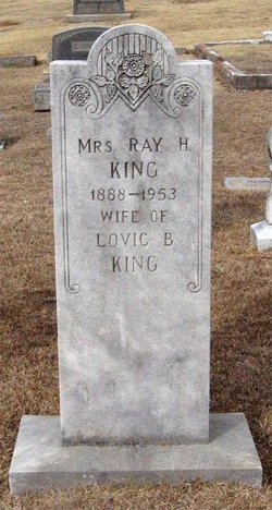 Mrs Ray Cleo <i>Holland</i> King