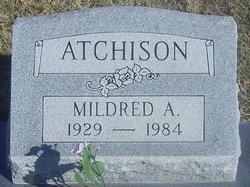Mildred A Millie Atchison
