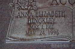 Anna Elizabeth <i>Hinckley</i> Acord
