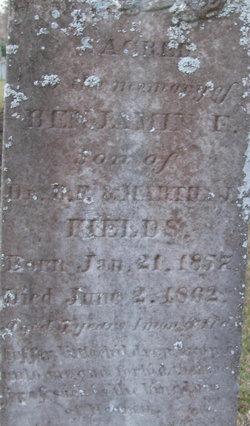 Benjamin F Fields