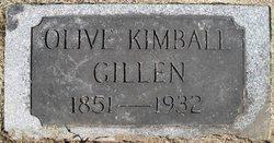 Olive Louise <i>Kimball</i> Gillen