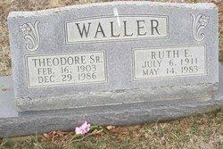 Ruth Evelyn <i>Jefferson</i> Waller