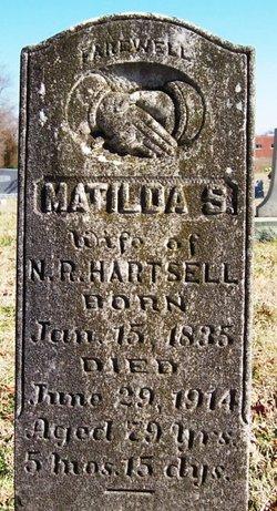 Matilda Silvia <i>Kiser</i> Hartsell