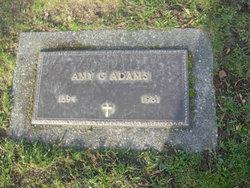 Amy Gertrude <i>Kellermeyer</i> Adams