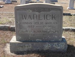 Elisabeth <i>Nicholson</i> Warlick