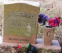 Dorothy Ann <i>Carter</i> Anderson
