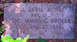 Nell Lewis <i>Battle</i> Booker