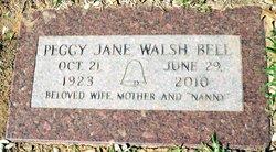 Peggy Jane <i>Walsh</i> Bell