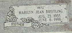 Marilyn Jean <i>Zieske</i> Breitling