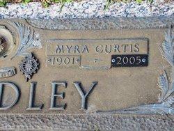 Myra Althea <i>Curtis</i> Chandley