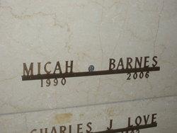 Micah Thomas Peanut Barnes