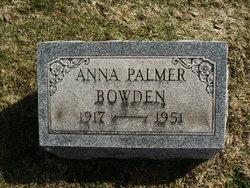 Anna <i>Palmer</i> Bowden