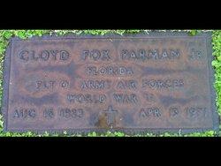 Cloyd Fox Parman, Jr