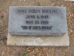 Joyce Evelyn Bertling