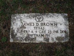 Sgt James Douglas Brown