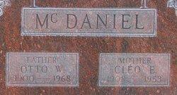 Otto William Bud McDaniel