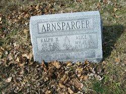 Alice W <i>Baird</i> Arnsparger