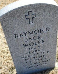 Raymond Jack Wolfe