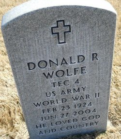 Donald R Wolfe