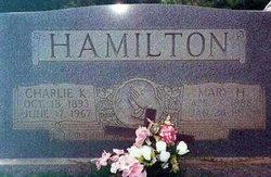 Mary <i>Haithcock</i> Hamilton