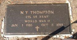 N Y Thompson
