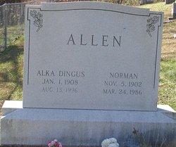 Alka <i>Dingus</i> Allen