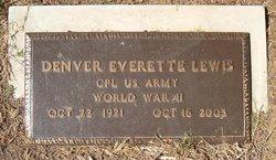 Denver Everette Lewis