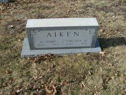 Virginia D <i>Henderson</i> Aiken