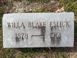 Willa McCord <i>Blake</i> Eslick