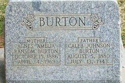 Agnes Amelia <i>Ransom</i> Burton