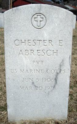 Pvt Chester E. Abresch