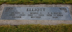 Marie Elizabeth <i>Bafford</i> Elliott