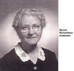 Mynoa <i>Richardson</i> Andersen