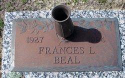 Frances Louise <i>Cottle</i> Beal