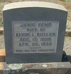 Janie E <i>Kemp</i> Butler