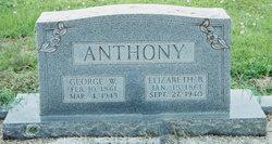 Charlotte Elizabeth <i>Byrum</i> Anthony