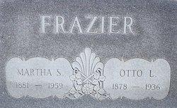 Martha Sophrona <i>Smith</i> Frazier