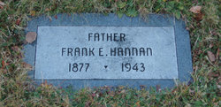 Frank E Hannan