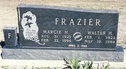 Margie May <i>Haines</i> Frazier