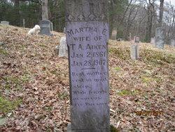 Martha Elizabeth <i>Shipman</i> Aiken