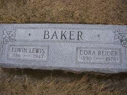 Cora <i>Reider</i> Baker