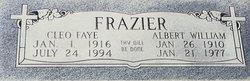 Cleo Faye <i>Walker</i> Frazier